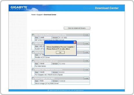 windows usb installation tool gigabyte