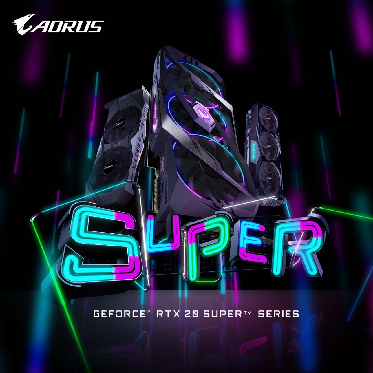 SUPER COMING ! GIGABYTE First UnveilsGeForce® RTX 20 SUPER