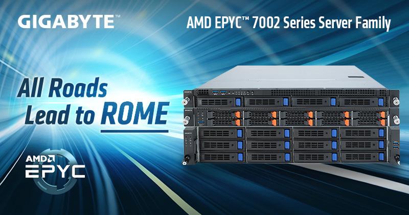 GIGABYTE Unveils AMD EPYC™ 7002 Series Server Family | News