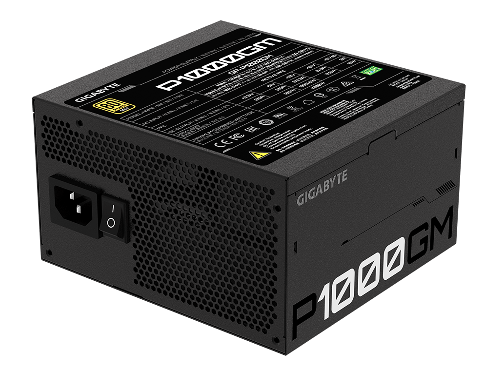 Gigabyte launches p1000gm power supply