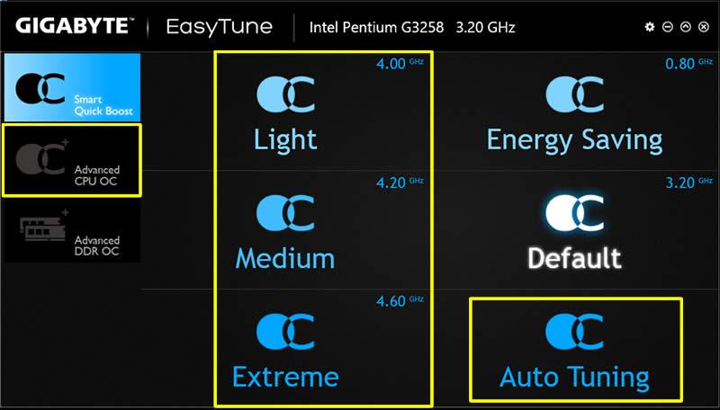 Gigabyte GA-Z68P-DS3 Intel Easy Tune6 Drivers Windows XP